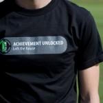 Achievement Unlocked:  Left the House T-Shirt [pic]