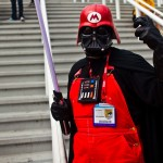 Darth Vader Dressed in Super Mario Cosplay [pic]