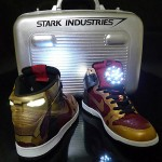 Amazing Iron Man Light-Up Nike Tennis Shoes [pic]