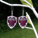 Legend of Zelda Hylian Shield Earrings [pic]
