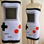 Strapless Nintendo Game Boy Dress [pic]