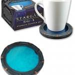Stargate SG-1 Stargate Coaster Set [pic]