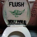 Yoda: Flush the Toilet You Will [pic]