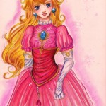 Princess Peach Fan Art [pic]