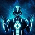 Darth Vader TRON Mash-up [pic]