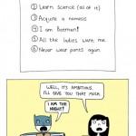 Post-College Life Plan of a Superhero [comic]