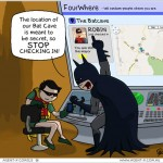 Robin is the Mayor of the Batcave.  Oops!  [comic]