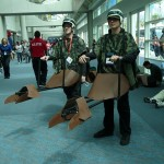 Star Wars Speeder Bike Cosplay [pic]