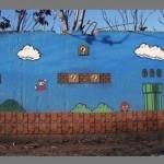 Super Mario Bros Street Art [pic]