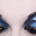 The Nightmare Before Christmas Eye Makeup Art [pic]