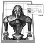 Battlestar Galactica Cylon Centurion Target Poster [pic]