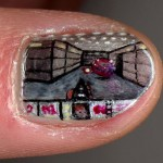 DOOM Fingernail Art [pic]