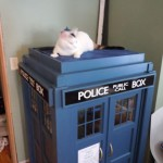 Doctor Who TARDIS Cat Playhouse [pics]