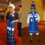 Doctor Who TARDIS Cosplay from Dragon*Con [pic]