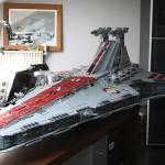 43,000 LEGO Piece Star Wars Star Destroyer [pic + video]