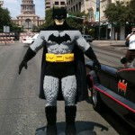 13-Year Old Builds Life-Size LEGO Batman [pics]