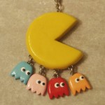 Pac-Man Keychain With Dangling Ghosts [pic]