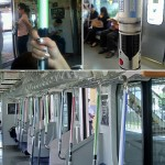 Star Wars Lightsaber Subway Handrails [pic]