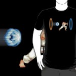 Street Fighter + Portal T-Shirt [pic]