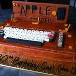 Apple 1 Computer Birthday Cake [pic]