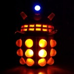 Dalek Halloween Pumpkin [pics]