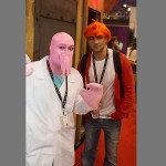 Futurama Zoidberg and Fry Cosplay [pic]