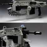 Working Gears of War LEGO Lancer Assault Rifle [pic + video]