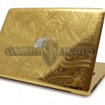 24-Karat Gold Apple MacBook Pro [pics]