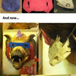 Homemade Teenage Mutant Ninja Turtles Bebop Head [pic]