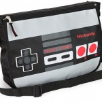NES Controller Reversible Messenger Bag [pic]