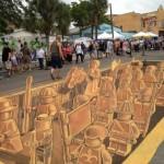 Terracotta LEGO Army 3D Street Art [pic]