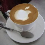 Apple Logo Latte Art [pic]