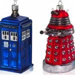Doctor Who TARDIS and Dalek Christmas Ornaments [pic]