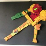 Life Sized Samus Made From Old Game Cartridges [pic]