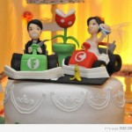 Mario Kart Themed Wedding Cake Topper [pic]