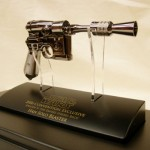 Star Wars Empire Stikes Back Replica Han Solo Blaster [pic]