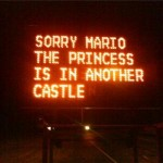 Super Mario Bros Hacked Construction Sign [pic]