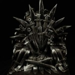 Game of Thrones Throne of Swords Cake [pic]