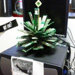 IT Geek Christmas Tree Made with RAM and a CPU [pic]