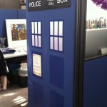 Doctor Who TARDIS Cubicle [pic]