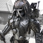 Amazing Steampunk Predator Sculpture [pic]