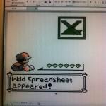Pokemon Excel Spreadsheet Art [pic]