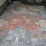 Super Mario Bros Patio Uses Over 500 Bricks [pic]