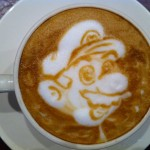 Super Mario Latte Art [pic]