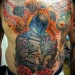 Massive Boba Fett Tattoo [pic]