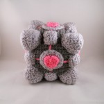 Crochet Portal Companion Cube [pic]
