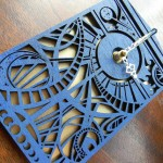 Doctor Who Timey Wimey TARDIS Clock [pic]