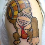 Donkey Kong Arm Tattoo [pic]
