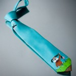One-of-a-Kind Duck Hunt Tie [pic]