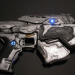 Stunning Gears of War Papercraft Snub Pistol [pics]